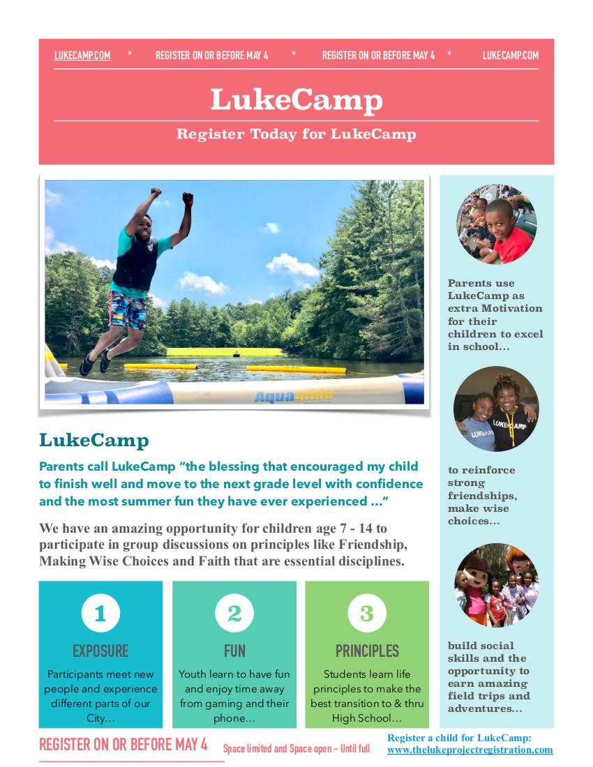 LukeCamp Flyer